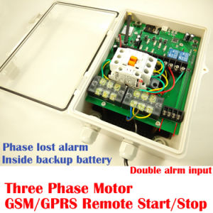 GSM Industrial Three Phase Motor Power Switch, Water Pump Controller pictures & photos