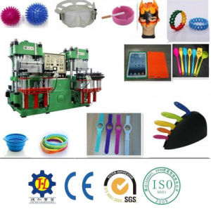 Double Molds Mechanical Type Rubber Vacuum Hydraulic Machine pictures & photos