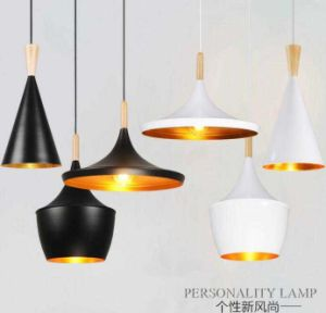 Exquisite Indoor Wooden Iron Pendant Lamp pictures & photos