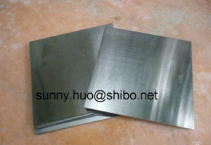 99.95% Moly Sheet, Moly Plate, Moly List Used as Reflection Shield pictures & photos
