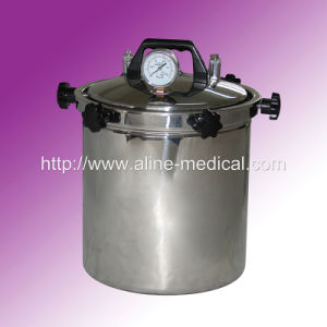 Portable Stainless Steel Pressure Steam Sterilizer (O5) pictures & photos