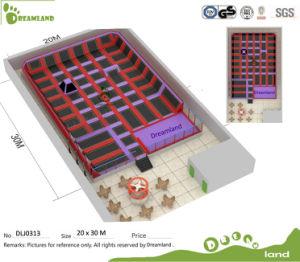 Kids Indoor Trampoline Bed ASTM Approved Indoor Trampoline Park and Used Trampoline for Sale pictures & photos