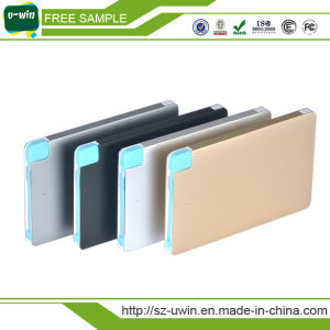 Best Selling Mobile Phone Charger 2600mAh Credit Card Power Bank pictures & photos
