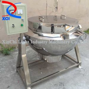 Tilting Electrical Heatting Jacketed Kettle with Cover