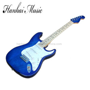 Hanhai Music / St Style Blue Electric Guitar pictures & photos