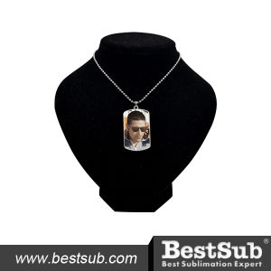 Bestsub Promotional Arc-Shaped Zinc Alloy Photo Dog Tag (MDT03) pictures & photos