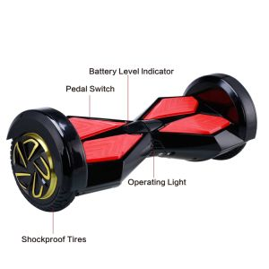 8 Inch LED Bluetooth Self Balancing Electric Scooter Drift Board Scooter pictures & photos