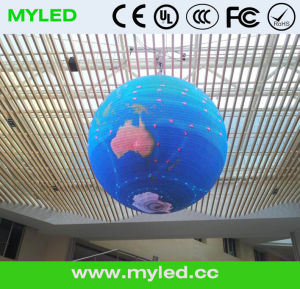 P7.62 360 Degree LED Sphere Display with Full Color pictures & photos