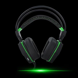 New Product LED Lamp Wired USB Computer Headphones (K-13) pictures & photos