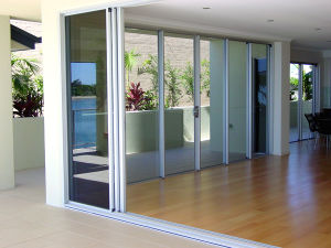Double Glazing Aluminum Thermal Break Sliding Doors/Aluminium Casement Doors pictures & photos