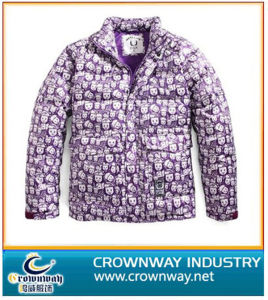 Allover Printing Down Jacket & Padded Coat pictures & photos