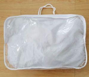 Cotton Rope Non Woven PVC Transparent Quality Pillow Bag pictures & photos