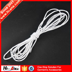Over 95% Accessories Exported Various Colors Coiled Elastic Cord pictures & photos