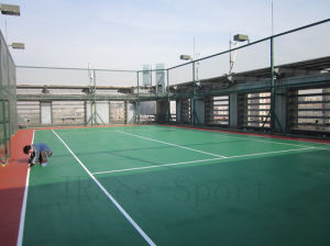 Rubber Synthetic Itf High Quality Tennis Court Flooring pictures & photos