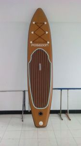 Attractive Wood Pattern Surfing Board Sup Paddle pictures & photos