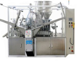 Double Colours Toothpaste Filling Machine pictures & photos