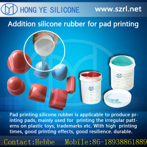 Manufacturer of RTV-2 Silicon Rubber for Pad Printing Pads Making pictures & photos