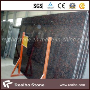 Commerical Brown Stone Tan Brown Granite Slab for Kitchen pictures & photos