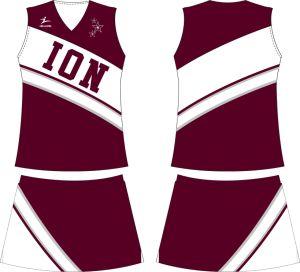 Healong Custom Full Dye Sublimation Despoke Design Cheerleading Jerseys pictures & photos