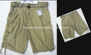 Casual Leisure Cotton Cargo Jogger Washing Shorts for Man pictures & photos