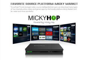 Newest DVB-S2+DVB-T2/ISDB-T/C+IPTV Android TV Box Ipremuim I9 pictures & photos