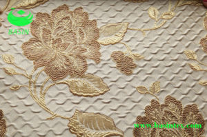Polyester Jacquard Curtain Fabric (BS1306) pictures & photos