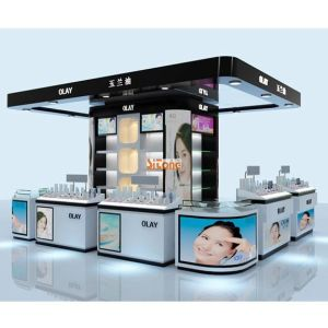 Pop Acryllic Display Stand for Cosmetic, Acrylic Display Rack pictures & photos