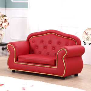 Royal PU Leather Baby Furniture/Kids Sofa/Kids Furniture (SXBB-345) pictures & photos