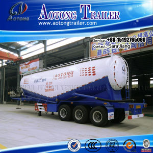 ISO CCC Approved Bulk Cement Tank Trailer with Air Compressor pictures & photos