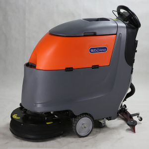 Manual Easily Operatefloor Scrubber for Supermarket pictures & photos