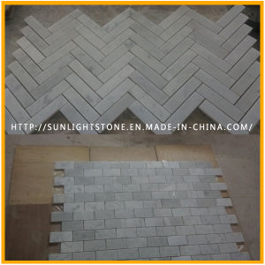 Cheap Carrara White Marble Flooring and Wall Tiles for Kitchen pictures & photos