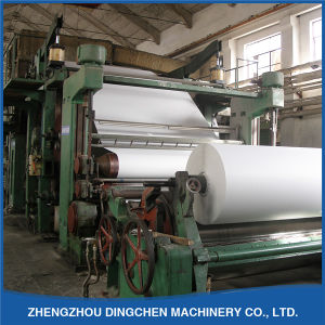 2400mm Paper Recycling Machine White Office Paper Making Machinery pictures & photos