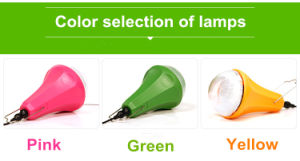 Portable Solar Light Set System for Camping pictures & photos