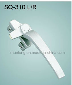 Zinc Alloy Handle for Windows/Doors Hardware (SQ-310 L/R)