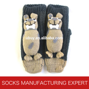 Babies′ 3D Anti Slip Home Sock (UBUY-107) pictures & photos