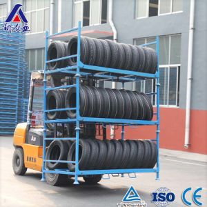 Heavy Duty Stackable Tire Rack pictures & photos