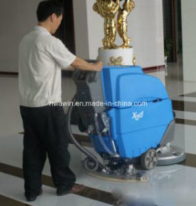 Hand Push Floor Scrubber Machine with Auto Drive System pictures & photos