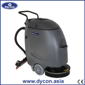 Cable-Type Handpush Mini Floor Scrubber for Airport 006 pictures & photos