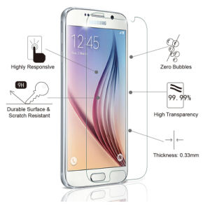 Tempered Glass Screen Protector 2.5D Curved for Samsung S6 pictures & photos