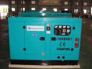 Soundproof 15kVA EPA Engine Diesel Generator Set