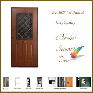 Italy Type Superior Quality PVC with Steel Sheet Security Door