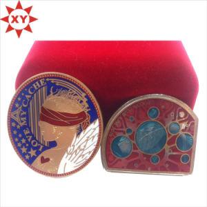 2015 Souvenir Custom Zinc Alloy Colorful Enamel Metal Coin pictures & photos