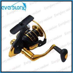 Black and Gold Cheap Spinning Reel pictures & photos