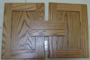 Melamine Surface Wooden Kitchen Cabinet pictures & photos
