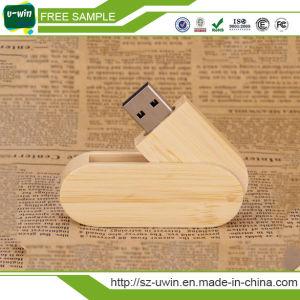 Wood Rotation USB Flash Drive Custom Logo pictures & photos