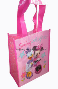 Customized Shinning PP Laminated Non-Woven Promotional Bags pictures & photos