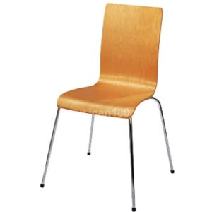 Kfc/Mcdonalds Canteen Wooden Dining Chair (WD-06001) pictures & photos
