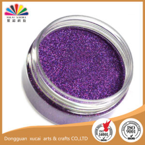 0.3mm Hexagon Purple Color Glitters Powder (B0800)