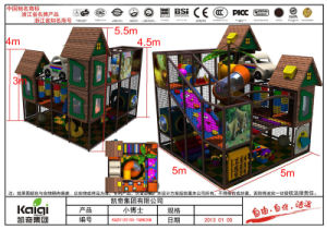 Kaiqi Small Medium Sized Indoor Soft Play Playground and Playhouse (KQ20120105-TQBK25B) pictures & photos