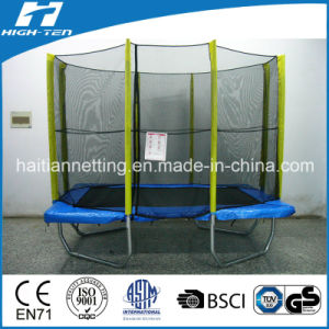 Rectangle Shape Big Trampoline with Enclosure pictures & photos